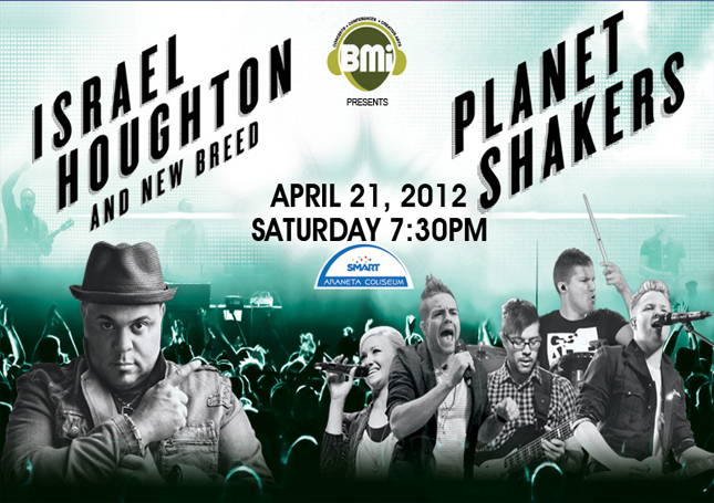 Planetshakers and Israel Houghton