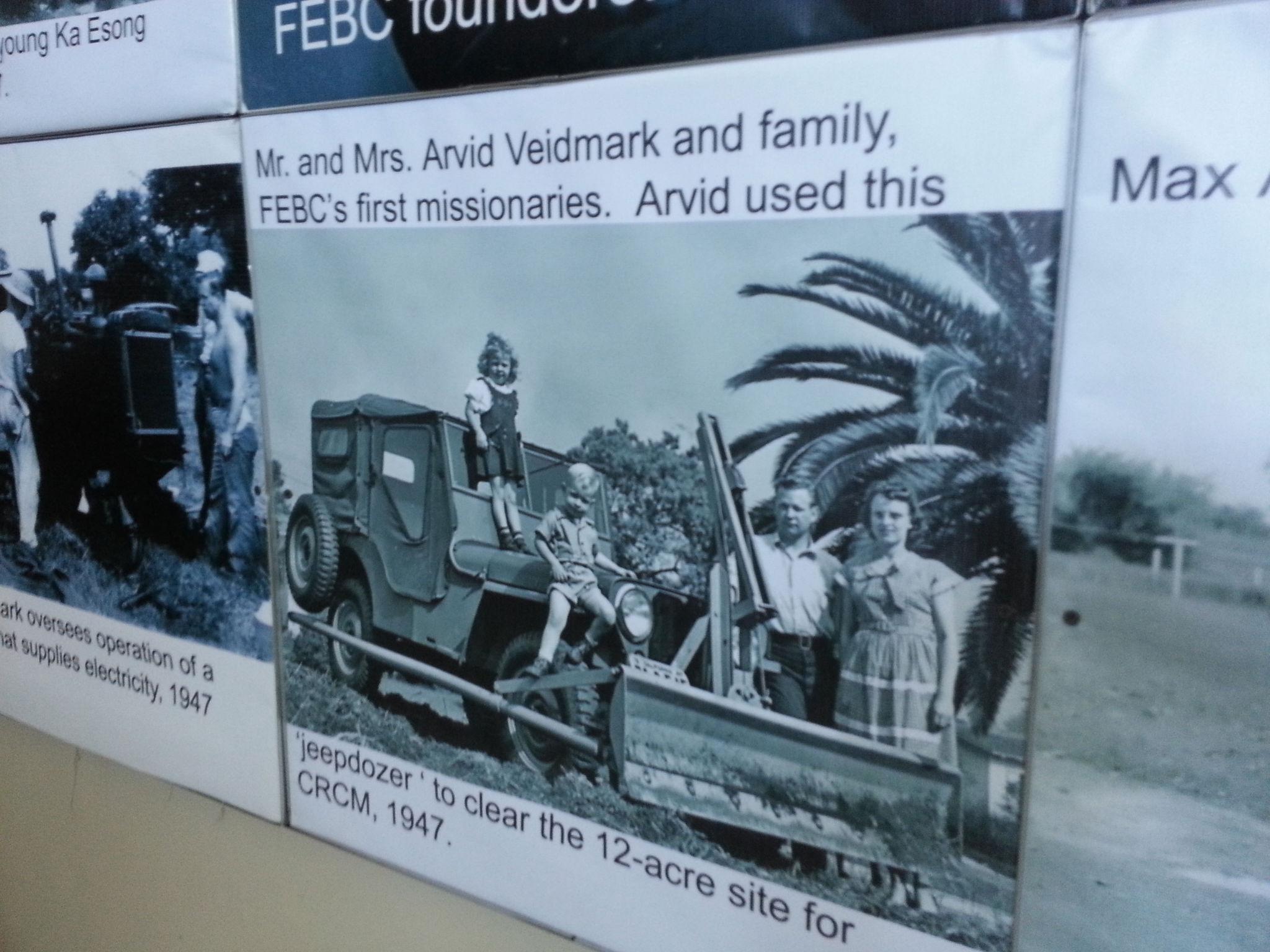 First Radio Missionaries