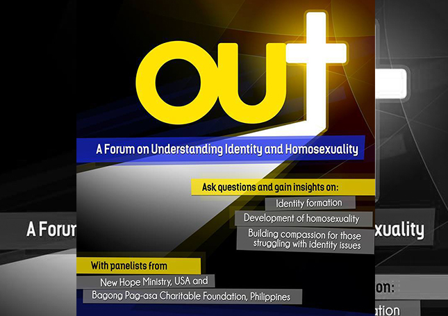 Out: A Forum on Understanding Sexual Identity and Homosexuality