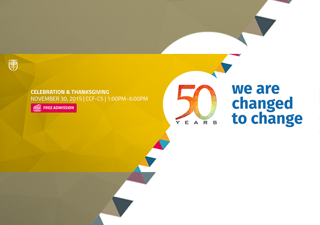 PCCC @ 50 : We are Changed to Change