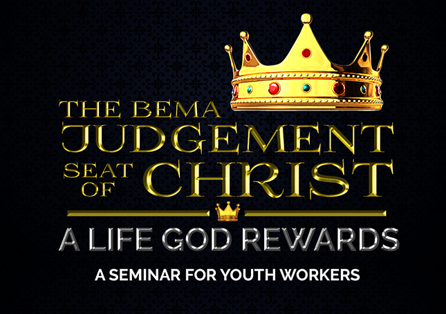 A LIFE GOD REWARDS – A Seminar for Youth Workers